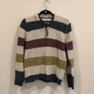 Soft Stripe Pull Over